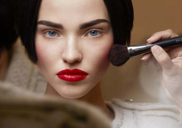 макияж весна лето: с акцентом на губы красные