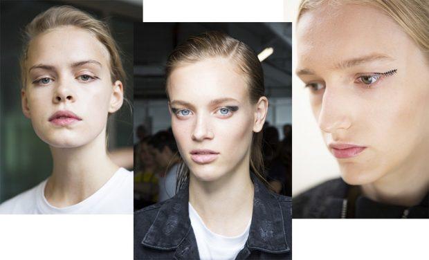 Модный макияж весна лето 2020: оригинальные стрелки уголки