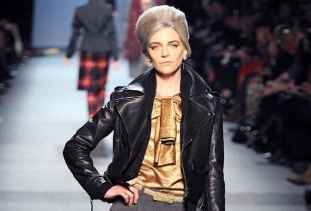 кожаная куртка короткая черная косуха
