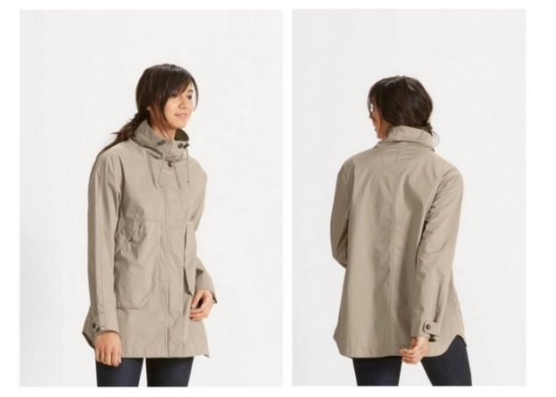 куртка ветровка бежевая