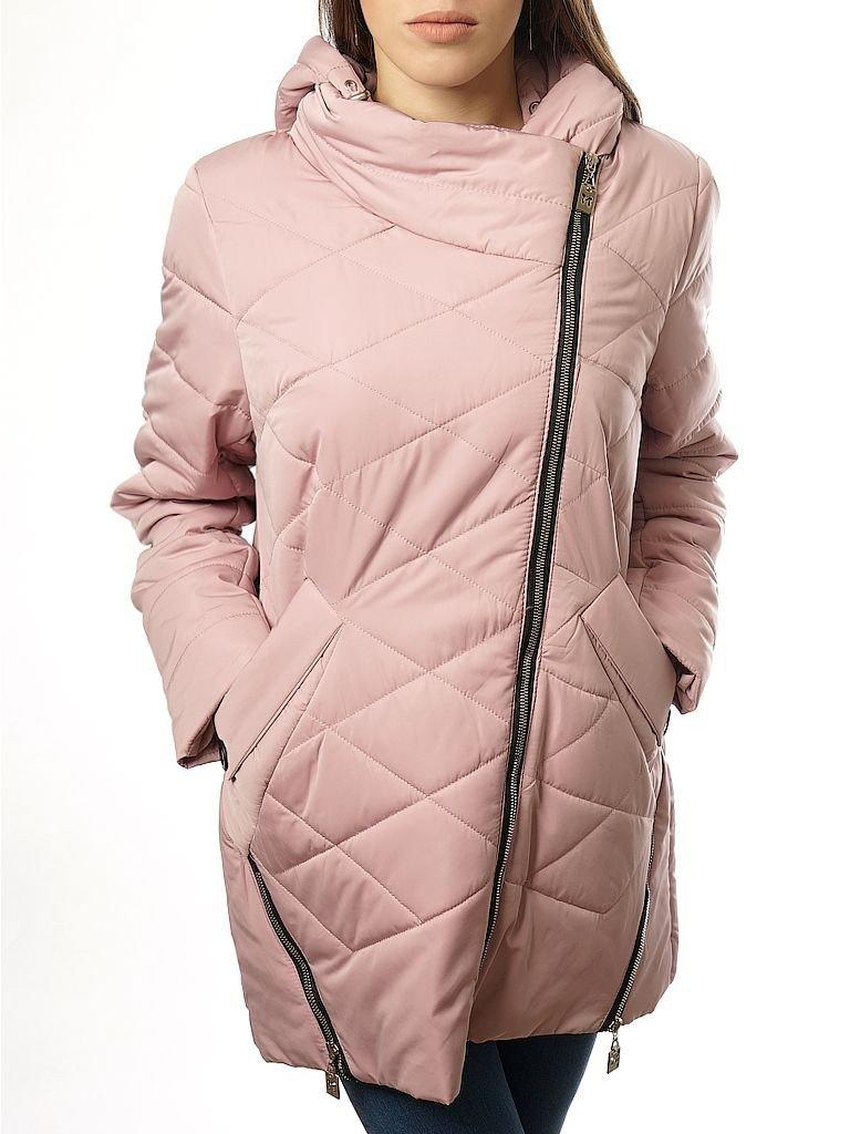 куртка синтепоновая бледно-розовая