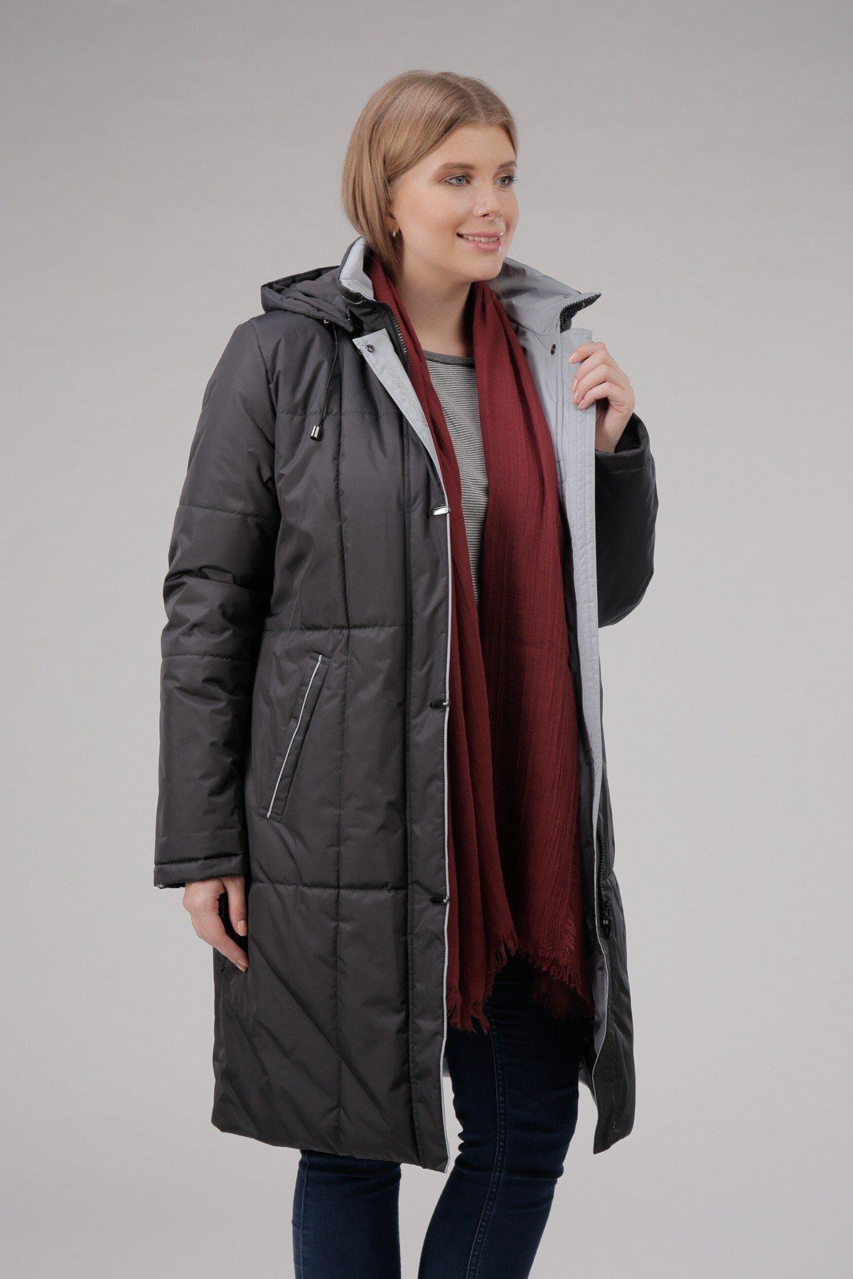 куртка финская черная стеганая