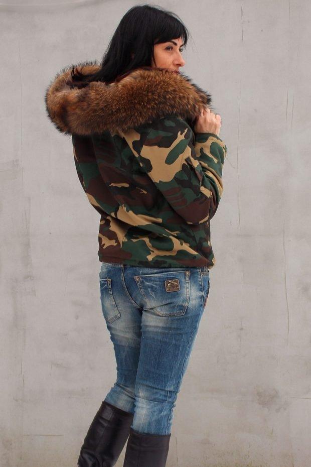куртка финская короткая камуфляж