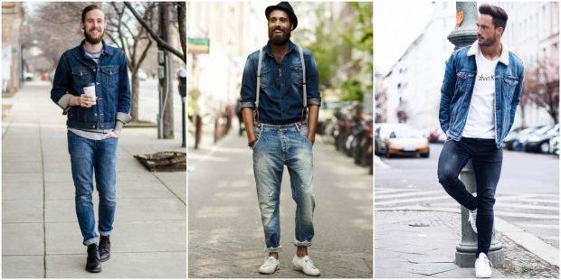 мужская мода лето 2021 основные тенденции: джинсовая