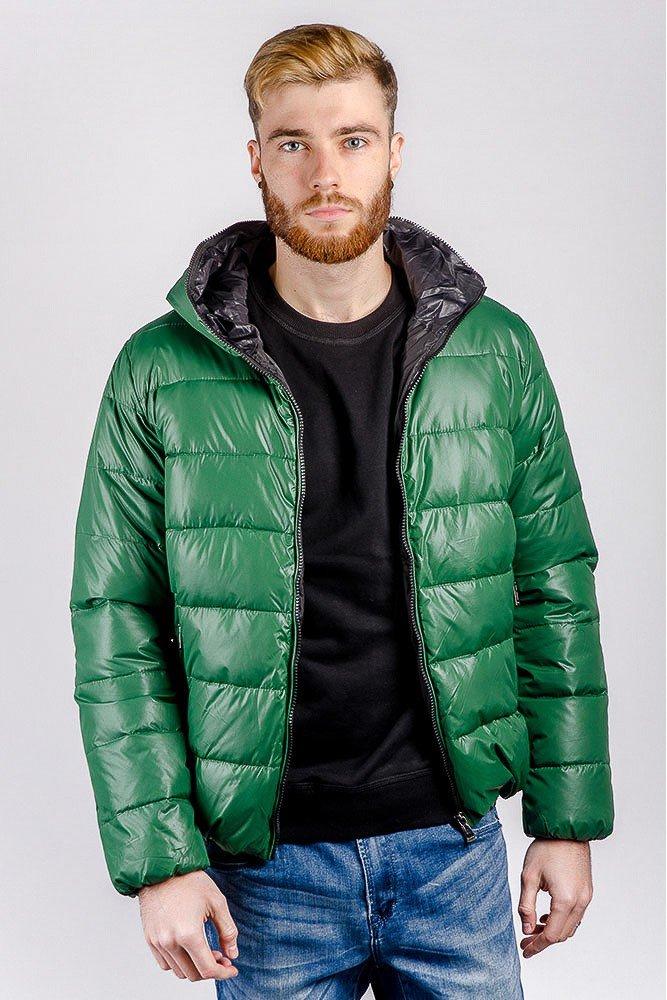 мужская мода 2019 весна лето: зеленая стеганая куртка