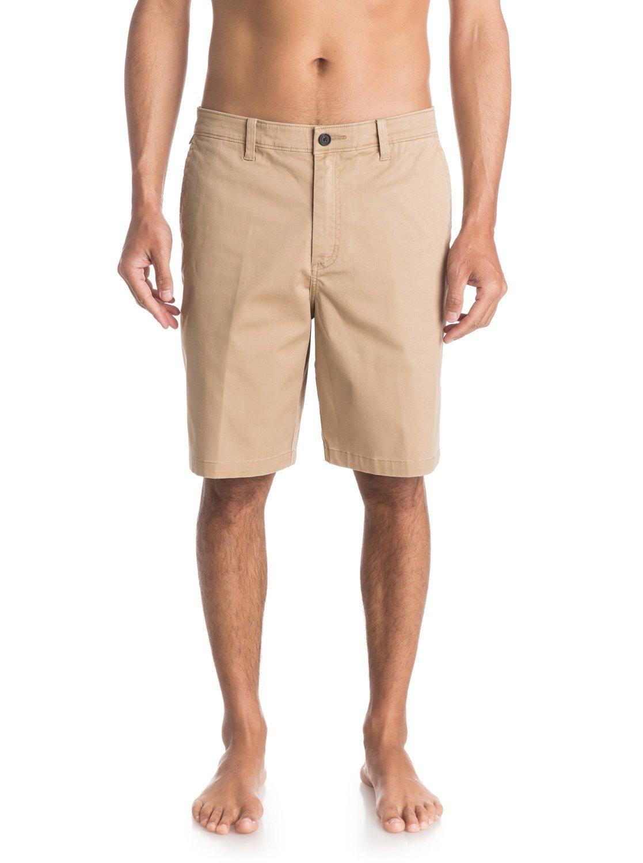 мужская мода весна лето 2018: шорты брючная ткань бежевые