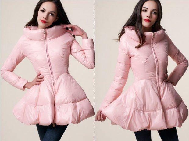 платье розовый под джинсы