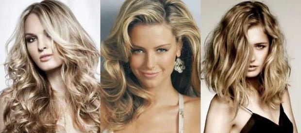 волосы тренд 2019 2020: натуральный блонд с золотым оттенком