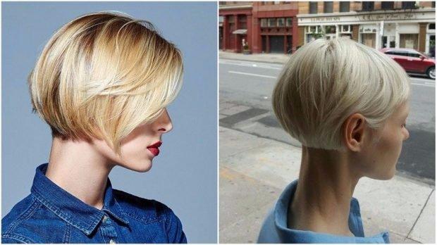 тренды 2019 2020 волосы: боб короткий