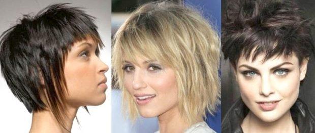 тренды 2019 2020 волосы: рваные асимметричные стрижки на короткие