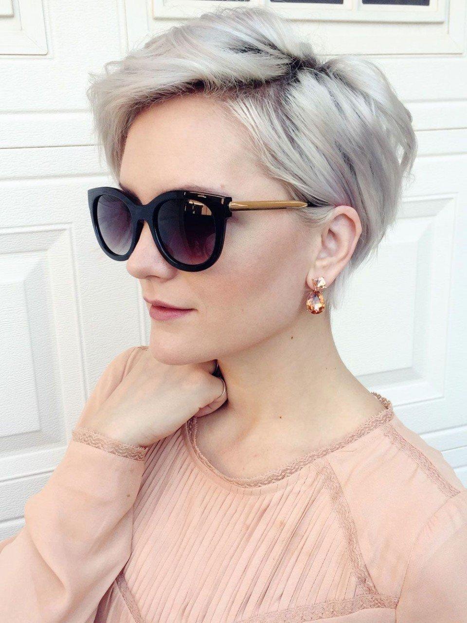 тренды 2018 2019 волосы: пикси на короткие