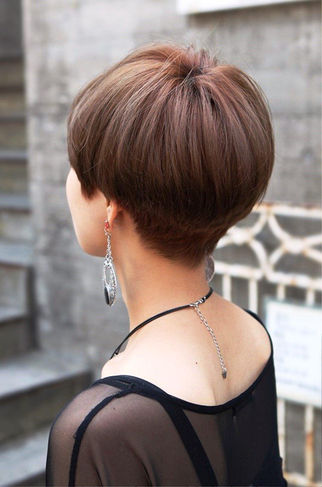 тренды 2018 2019 волосы: стрижка паж короткие