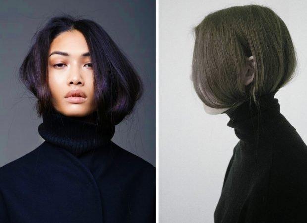 тренды 2019 2020 волосы: под свитер