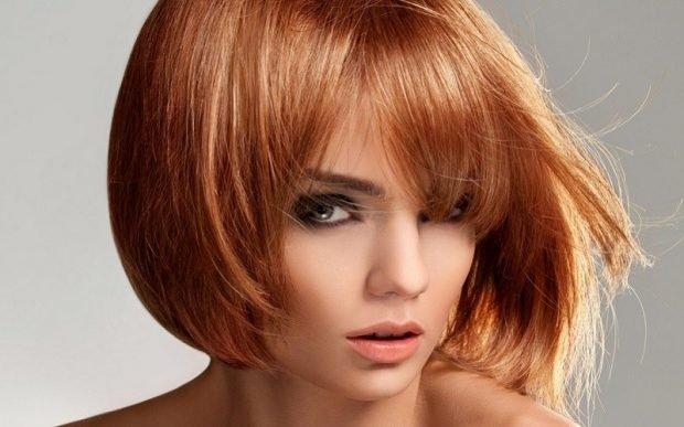 волосы тренд 2019 2020: светло-рыжие