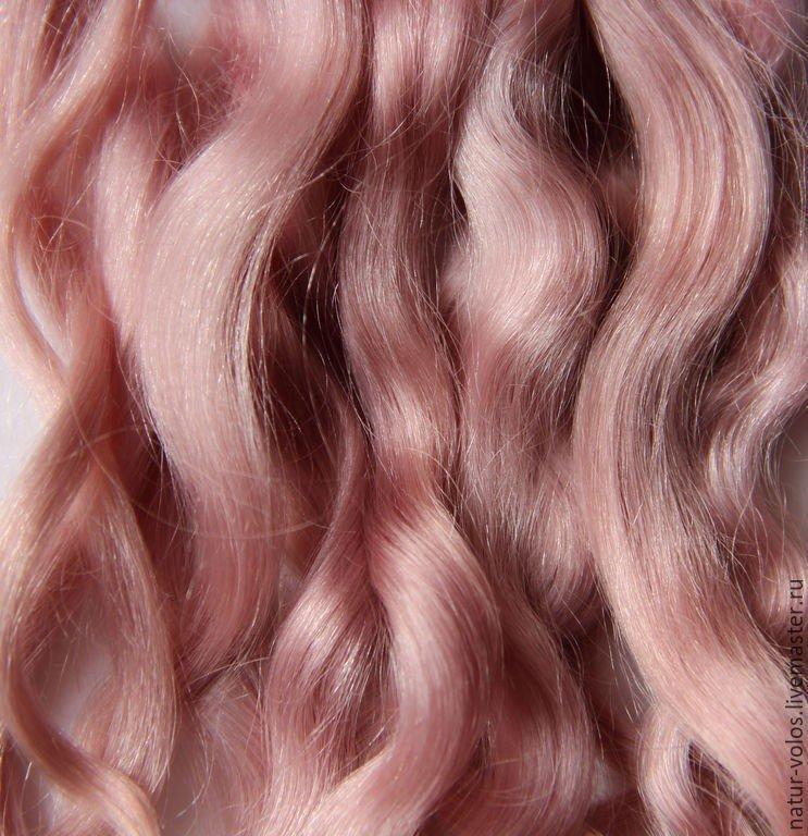 тренд цвета волос 2018 2019: пыльный розовый