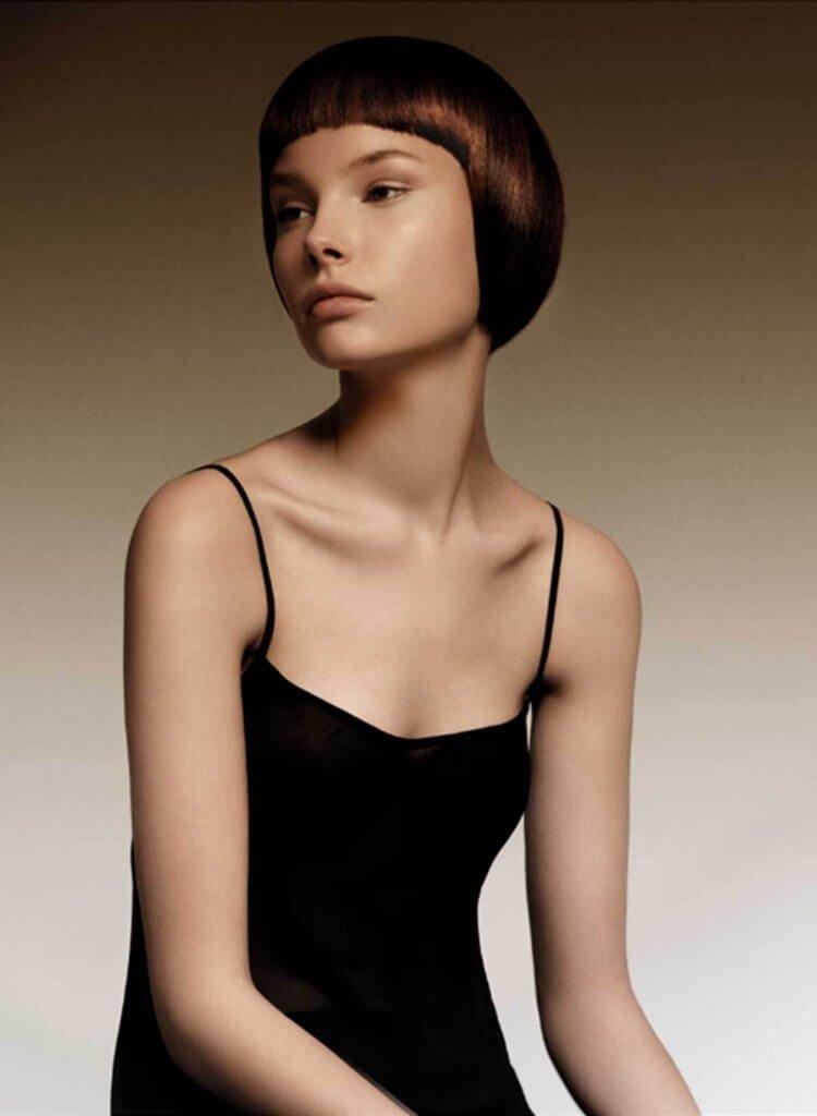 стрижка сессон на короткие волосы