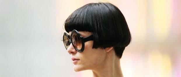 сессон на короткие волосы с челкой