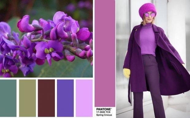 Костюм в цвете Spring Crocus