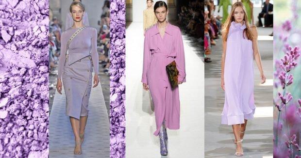 Модные цвета весна лето 2019: лиловый