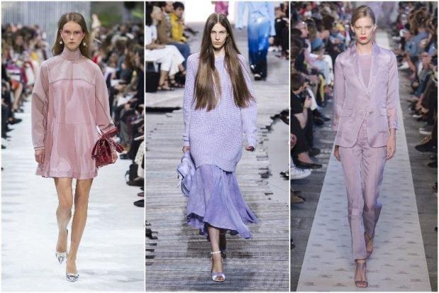Модные цвета весна лето 2019: фиолетовый
