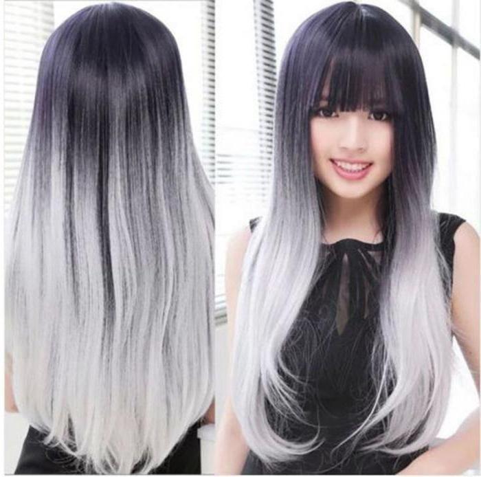 цвет волос тона не характерные для волос