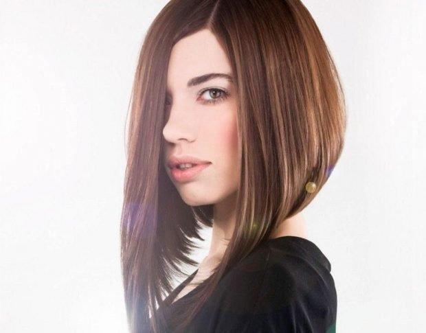 стрижки каре на длинные волосы