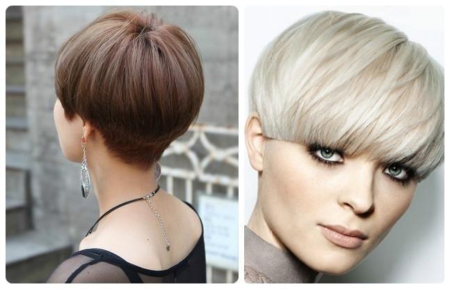 Стрижка шапочка на светлый волос
