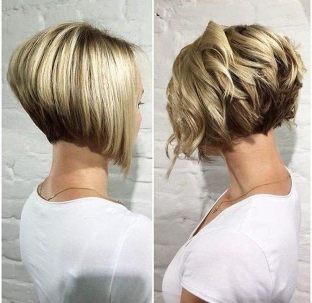 боб-каре на средние волосы