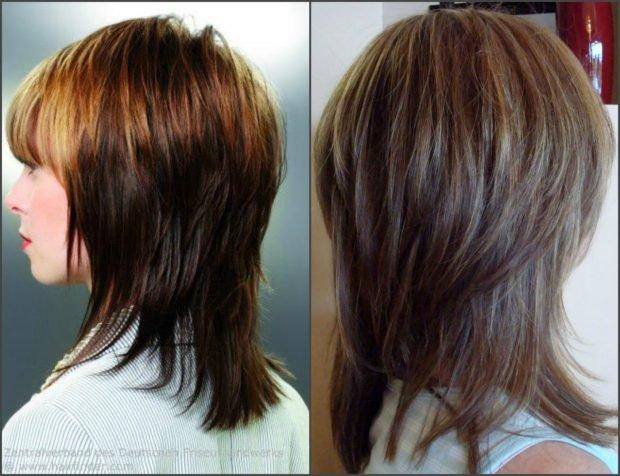 Стрижка дебют на длинный волос